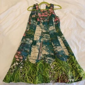 Size 4 Tracy Reese Impressionist Dress